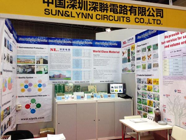 深联电路赴日参加东京举行的线路板展会