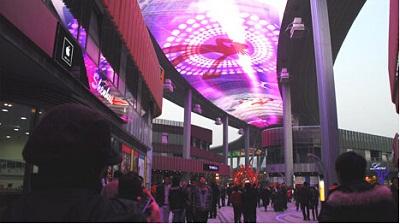 赌城之拉斯维加斯_LED铝基板厂家为您盘点中外七大LED显示屏奇观