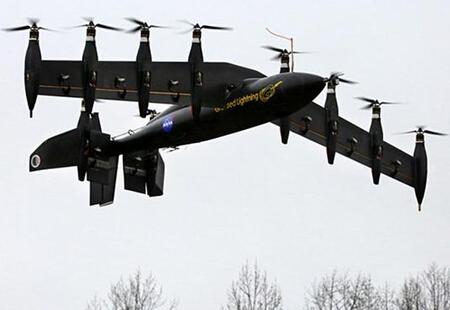 nasa的飞机混合无人机系统