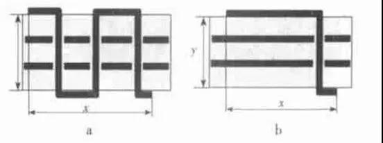 高频电路板设计出现干扰的解决方案  阻抗不连续的点就是传输线突变的