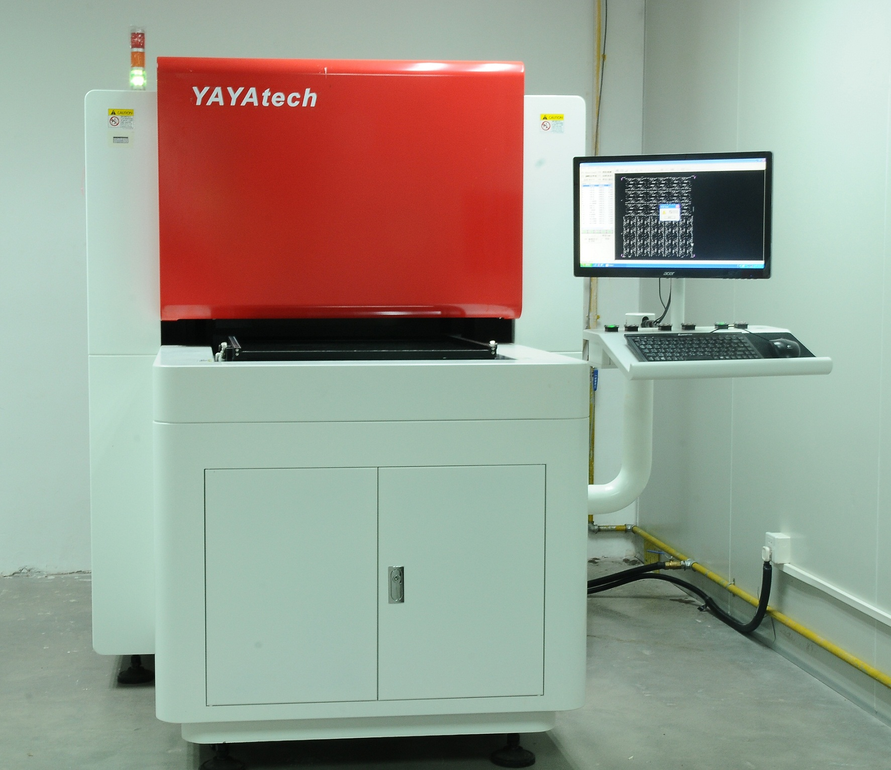 深联电路孔位精度检测机