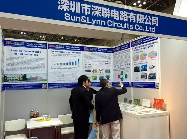 展会,线路板厂深圳市深联电路有限公司也参加了此次