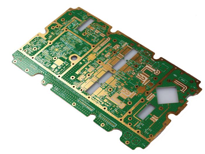 通讯高频混压板